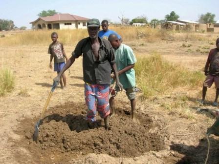 Dry Season View Ghana