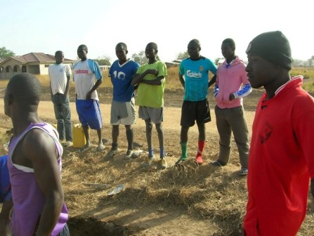 Local Footballers for Tree Planting Ghana